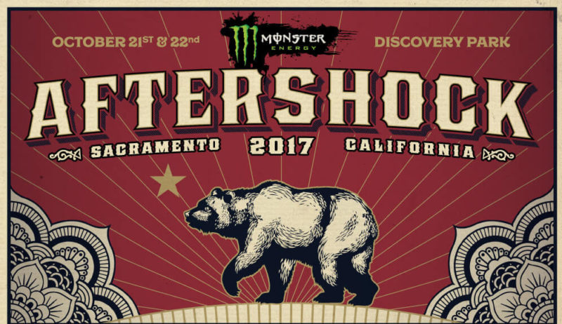 Upcoming Festival: Monster Energy Aftershock 2017 sets for October 21 and 22