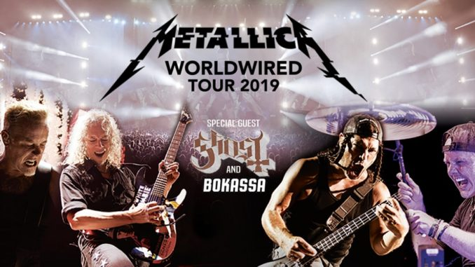 GHOST TO SPECIAL GUEST ON METALLICA'S 2019