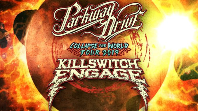 KILLSWITCH ENGAGE + PARKWAY DRIVE CO-HEADLINE TOUR CONFIRMED