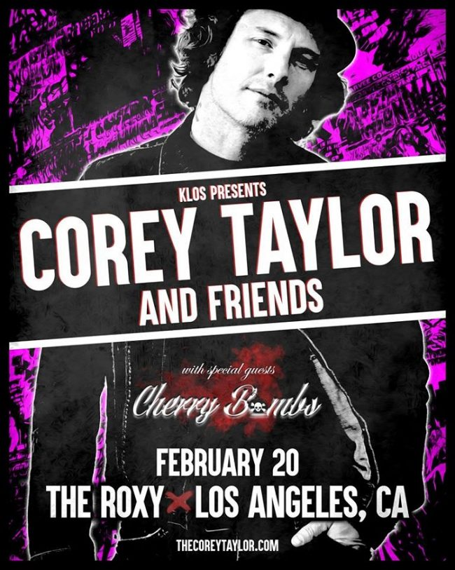 Corey Taylor Friends Hit The Roxy On The Sunset Strip 22019