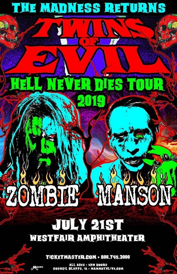 Concert Review Rob Zombie And Marilyn Manson Live At Westfair Go Venue Magazine
